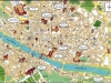 Италия. Флоренция. Карта