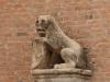 Италия. Болонья. Дворец короля Энцо (фрагмент фасада-2)