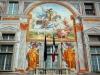 Италия. Генуя. Палаццо Сан-Джорджо (фрагмент фасада)
