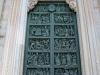Италия. Милан. Миланский собор (фрагмент фасада-2)