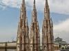 Италия. Милан. Миланский собор (фрагмент фасада-3)