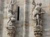 Италия. Милан. Миланский собор (фрагмент фасада)
