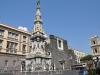 Италия. Неаполь. Церковь Джезу Нуово. Площадь и церковь