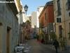 Италия. Ористано. Вид на аллею позади Via Dritta