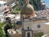 Италия. Позитано. Церковь в городе