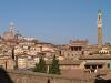 Италия. Сиена. Панорама старой Сьены от церкви св. Климента