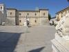 Италия. Norcia, Festung am der Piazza San Benedetto