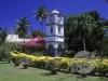Сады Терстона (Thurston Gardens) башня с часами