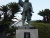 Статуя Oishi Kuranosuke, Замок Ако