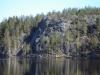 Большие скалы у озера Ястребиное