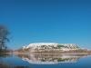 Голубое озеро и Белая гора