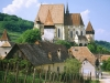 Румыния. Церковь в Бьертане (1)