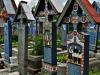 Румыния. Веселое кладбище (3)