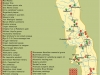 ЮАР. Национальный парк Крюгер (карта)