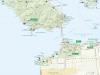 Национальная зона отдыха Голден-Гейт (карта)