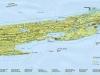 Национальный парк Айл-Ройал Карта