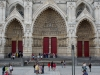 Франция. Амьен. Собор Амьенской Богоматери (фрагмент фасада-3)