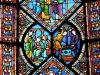 Франция. Кан. Мужское аббатство (витраж)