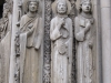 Франция. Шартр. Шартрский собор (фрагмент фасада -1)