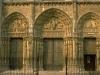 Франция. Шартр. Шартрский собор (фрагмент фасада -3)
