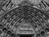Франция. Страсбург. Собор Страсбургской Богоматери (фрагмент фасада)