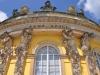 Германия. Подсдам. Дворец Сан-Суси (фрагмент фасада)