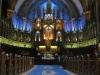 Канада. Монреаль. Собор Квебекской Богоматери (интерьер)