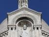 Париж. Базилика Святого Сердца (фрагмент фасада - 2)