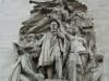 Париж. Триумфальная арка (фрагмент фасада-1)