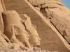 Египет. Абу-Симбел. Храм фараона Рамзеса II (фрагмент фасада -2)
