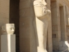 Египет. Храм Хатшепсут (фрагмент фасада)
