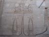 Египет. Ком-Омбо. Храм Хора и Собека (фргмент интерьера)