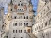 Германия. Замок Нойшванштайн внутренний двор