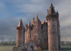 Нидерланды. Утрехт. Замок Де Хаар