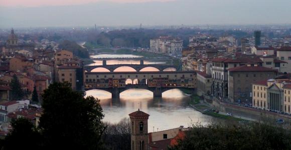 Флоренция. Мосты