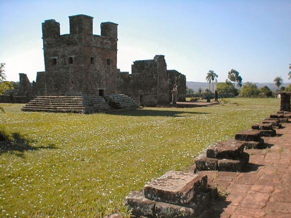 Парагвай. Миссия иезуитов Ла-Сантисима-Тринидад-де-Парана