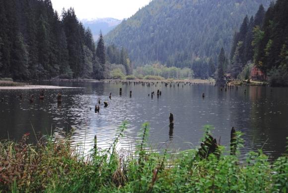 Румыния. Красное озеро