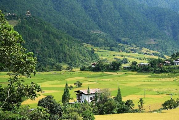 Бутан. Бумтангская долина