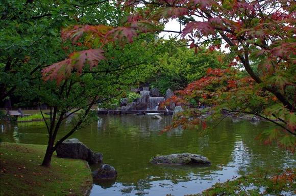 Хасселт. Японский сад
