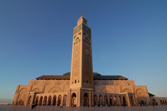 Марокко. Великая мечеть Хассана II