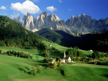 Италия. Доломитовые Альпы