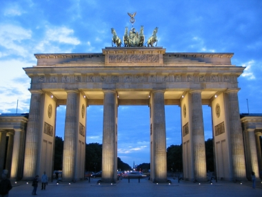 Берлин. Браденбургские ворота