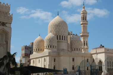 Египет Александрия. Мечеть Абу Эль-Аббаса (Mosque of Abu Abbas al Mursi)