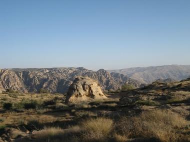 Иордания. Заповедник Дана