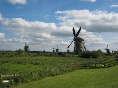 Нидерланды. Киндердейк