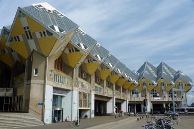 Нидерланды. Роттердам. Кубические дома