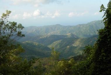 Ямайка. Голубые горы