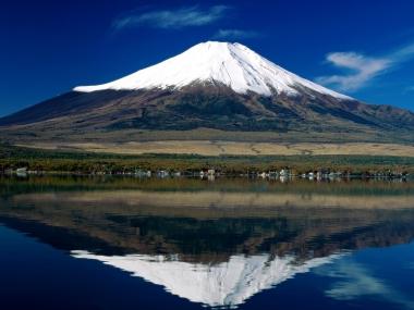 Япония. Гора Фудзияма